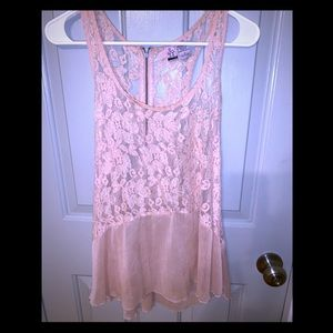 Lacy delicate and feminine shirt